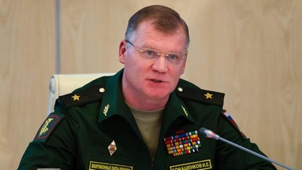 Phát ngôn viên Bộ Quốc phòng Nga Igor Konashekov. Ảnh: AP