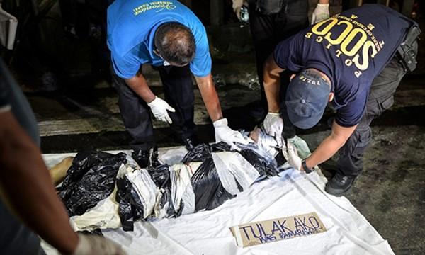 Một nghi phạm ma túy Philippines bị bắn chết. Ảnh:Barcroft.
