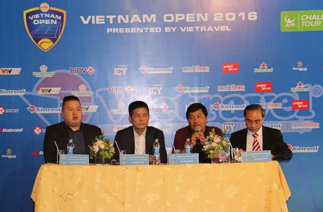 Vietjet đồng hành cùng Giải quần vợt quốc tế Vietnam Open 2016
