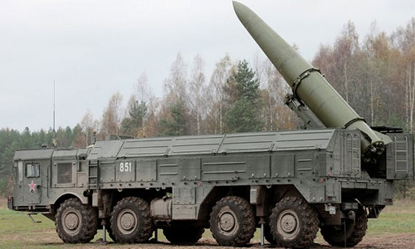 Hệ thống tên lửa Iskander-M. Ảnh: Sputnik.