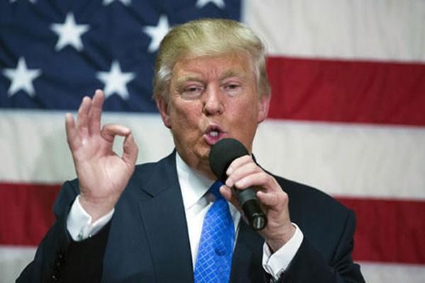 Ứng viên tổng thống Mỹ Donald Trump. Ảnh: AP