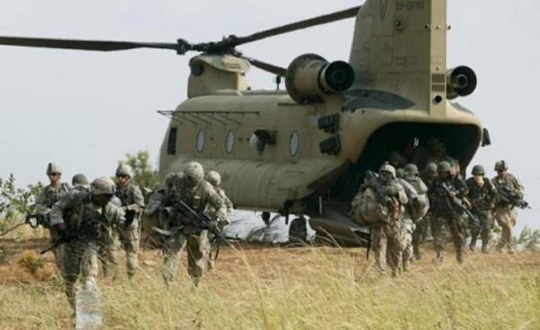 Tập trận chung Balikatan giữa Mỹ và Philippines. Ảnh: Reuters