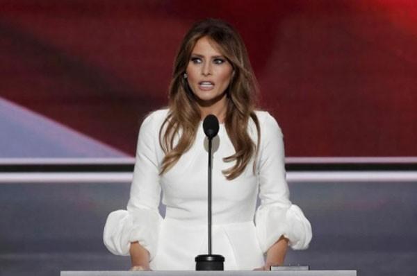 Bà Melania Trump, vợ ứng viên tổng thống Mỹ của đảng Cộng hoà Donald Trump. Ảnh: Reuters
