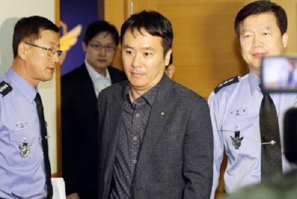 Ông Ju Gi-chung, phó tổng lãnh sự Trung Quốc hôm nay có mặt tại trụ sở tuần duyên Hàn Quốc ở thành phố Incheon. Ảnh: Yonhap