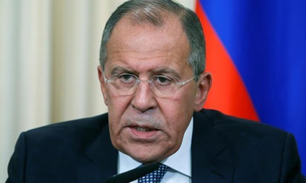 Ngoại trưởng Nga Sergei Lavrov. Ảnh: Reuters