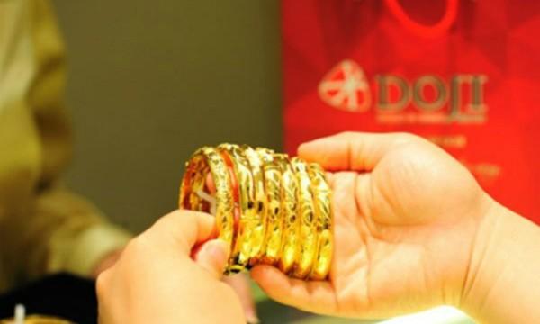 Giá vàng tăng nhẹ vài chục nghìn đồng mỗi lượng sáng nay. Ảnh: PV