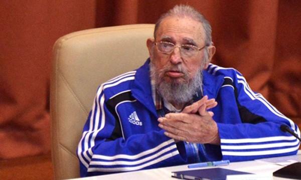 Cựu Chủ tịch Cuba Fidel Castro. Ảnh: AFP.