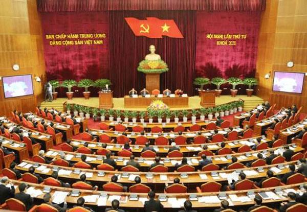 Theo chương trình dự kiến, Hội nghị lần thứ tư Ban Chấp hành Trung ương Đảng khóa XII sẽ làm việc đến ngày 15/10. Ảnh: Trí Dũng