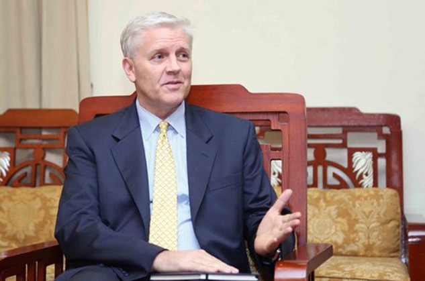 Ông Eric Sidgwick - Giám đốc Quốc gia ADB tại Việt Nam. Ảnh: MPI