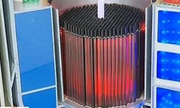 Mô hình thiêt kế lò phản ứng hạt nhân cỡ nhỏ của Trung Quốc. Ảnh: SCMP