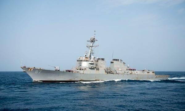 Tàu USS Manson. Ảnh: US Navy.