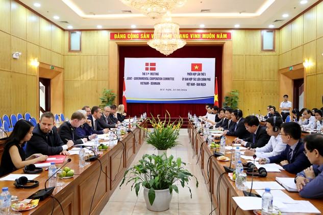 Đan Mạch hiện đứng thứ 26 trong số 112 quốc gia và vùng lãnh thổ có đầu tư tại Việt Nam. Ảnh: Minh Trang