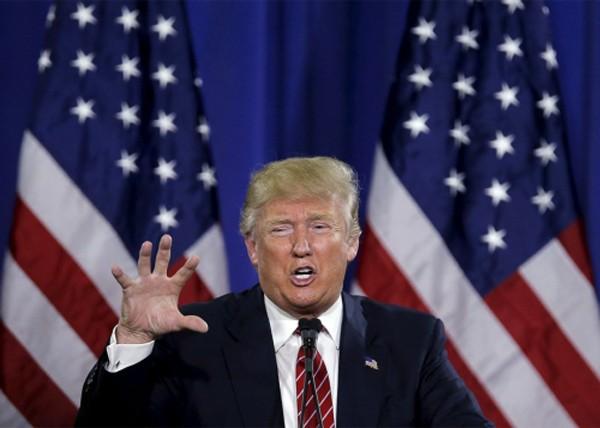 Tỷ phú Donald Trump, ứng viên tổng thống Mỹ đảng Cộng hoà. Ảnh: Slate