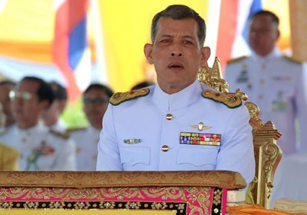 Thái tử Thái Lan Maha Vajiralongkorn. Ảnh:Reuters