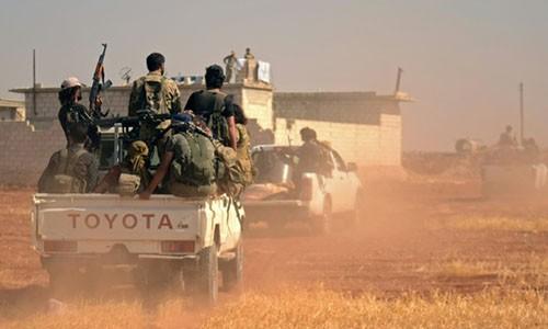 IS bị mất ngôi làng mang ý nghĩa biểu tượng ở Syria. Ảnh: AFP