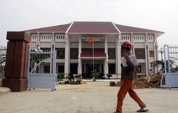 Vườn tượng sẽ đặt ở bảo tàng tỉnh Quảng Nam. Ảnh: Sơn Thuỷ
