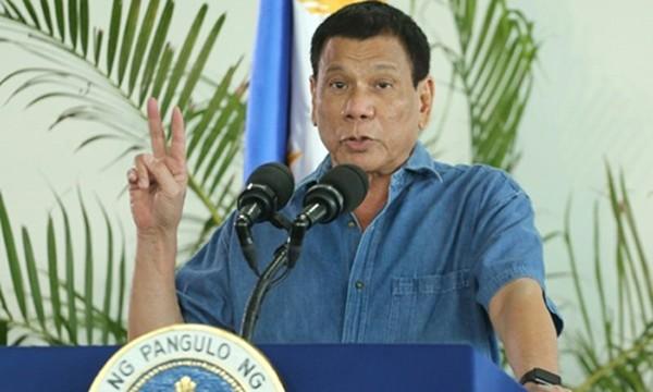 Tổng thống Philippines Rodrigo Duterte. Ảnh: AFP