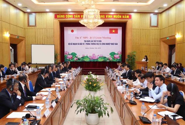 Phòng Thương mại và Công nghiệp Nhật Bản đã đưa ra một số đề xuất nhằm cải thiện môi trường  đầu tư, kinh doanh tại Việt Nam. Ảnh: Đức Trung