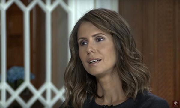 Bà Asma al-Assad. Ảnh: AP