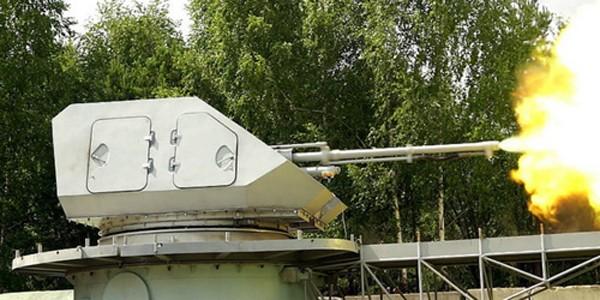 Pháo hải quân A-220M 57mm là nền tảng phát triển cho loại đạn thông minh này. Ảnh: Sputnik.