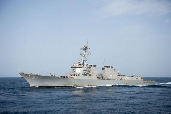 Tàu USS Mason ngoài khơi Yemen. Ảnh: usni.org