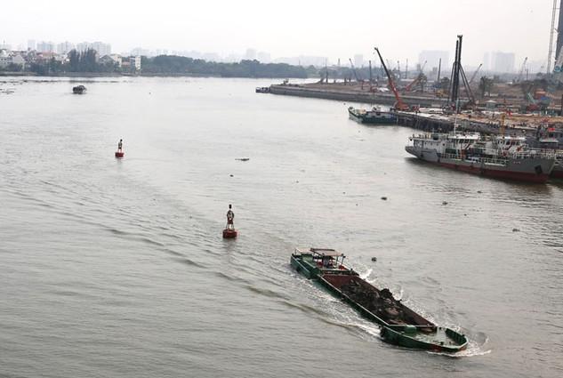 Nhà thầu Egis International từng thực hiện một số gói thầu hỗ trợ công tác duy tu hệ thống đường thủy nội địa tại Việt Nam. Ảnh: Lê Tiên