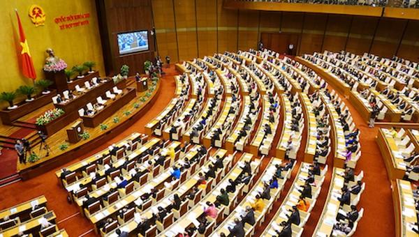 Kỳ họp thứ 2, Quốc hội khoá 14 làm việc trong 26 ngày. Ảnh: Giang Huy