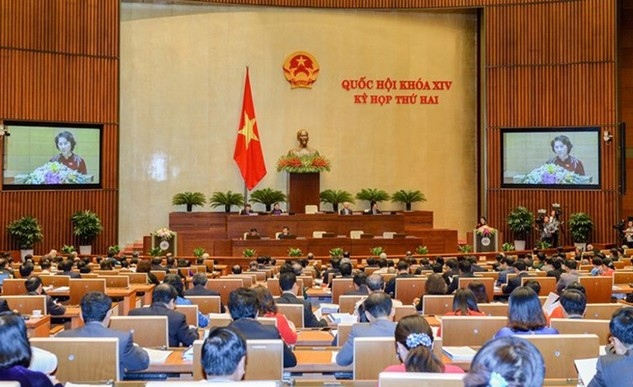 Phiên khai mạc Kỳ họp thứ 2 Quốc hội khóa XIV.