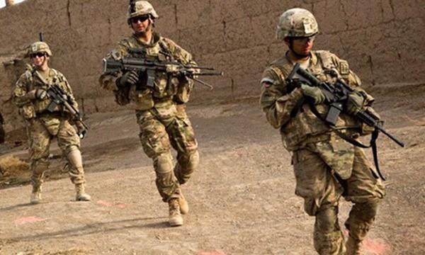 Binh sĩ Mỹ ở Afghanistan. Ảnh: AFP