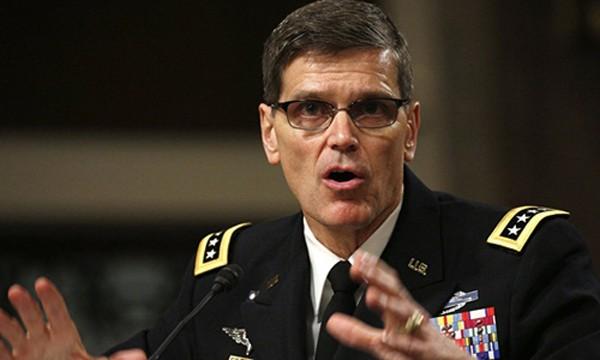 Đại tướng Joseph Votel, Tư lệnh Bộ chỉ quy quân sự Mỹ ở Trung Á và Trung Đông. Ảnh: Reuters