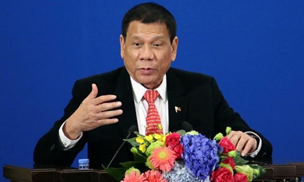 Ông Duterte tuyên bố muốn chia cắt quan hệ với Mỹ. Ảnh: Reuters.