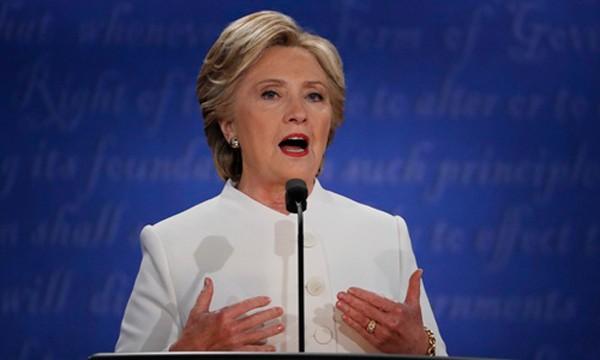 Ứng viên tổng thống Mỹ đảng Dân chủ Hillary Clinton. Ảnh: Reuters