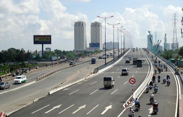 Doanh thu tài chính của Công ty CP Đầu tư Cầu đường CII phần lớn đến gián tiếp từ các dự án cầu đường mà công ty này triển khai. Ảnh: Đinh Tuấn