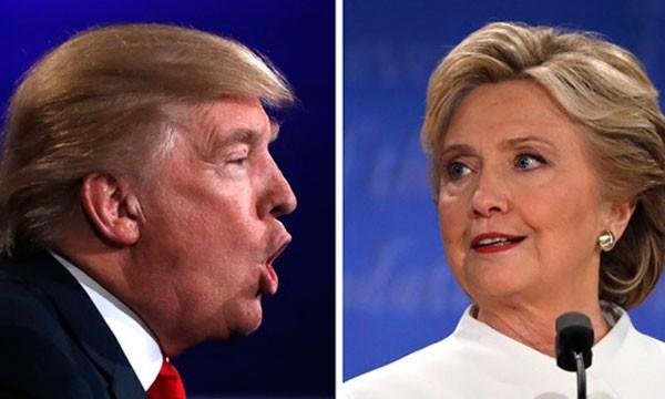 Ứng viên tổng thống Donald Trump, đảng Cộng hòa (trái), và Hillary Clinton, đảng Dân chủ. Ảnh: Reuters.