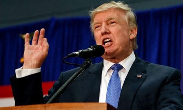 Phát biểu được đánh giá là chi tiết nhất về chính sách trong chiến dịch tranh cử của ông Trump. Ảnh: AP
