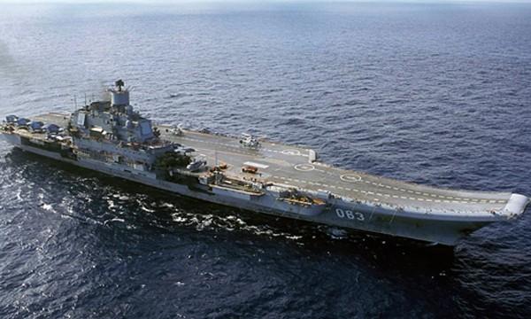 Tàu sân bay Đô đốc Kuznetzov của Nga