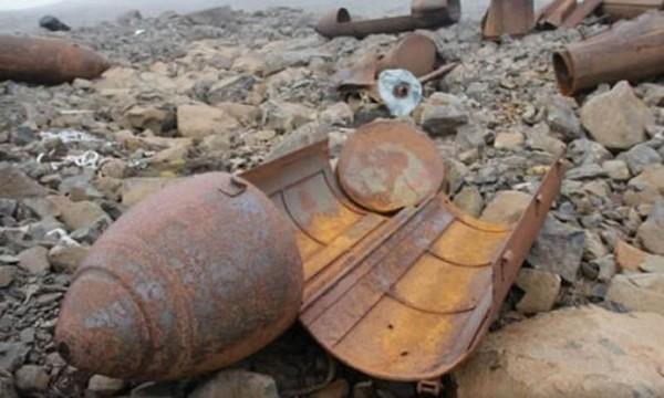 Nhiều hiện vật thời Đức Quốc xã được tìm thấy trên hòn đảo Alexandra Land, nay thuộc lãnh thổ Nga. Ảnh: RUPTLY.
