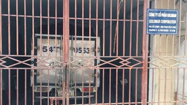 Địa chỉ phát hành HSMT một gói thầu do Ban QLDA huyện Cam Lâm (Khánh Hòa) làm chủ đầu tư là tại Công ty CP GOLDMAN (TP.HCM) đã đóng cửa khi nhà thầu đến mua hồ sơ