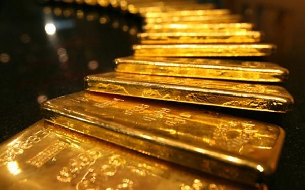Giá vàng miếng lại trong xu hướng giảm. Ảnh: Telegraph.