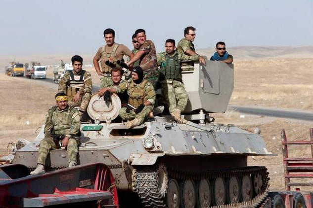 Quân đội Iraq trong chiến dịch tái chiếm Mosul. (Ảnh: Reuters)