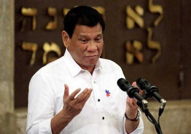 Tổng thống Philippines Rodrigo Duterte (Ảnh: Reuters)