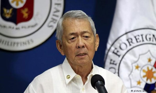 Ngoại trưởng Philippines Perfecto Yasay. Ảnh: Reuters