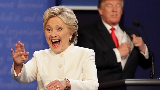 Ứng viên tổng thống đảng dân chủ Hillary Clinton (Ảnh: nraila)