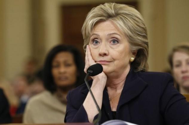 Ứng viên tổng thống Dân chủ Hillary Clinton. (Ảnh: Getty)