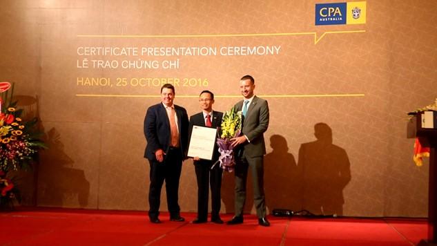 """BIDV trở thành """"Đối tác đào tạo đạt chuẩn"""" của CPA Úc"""