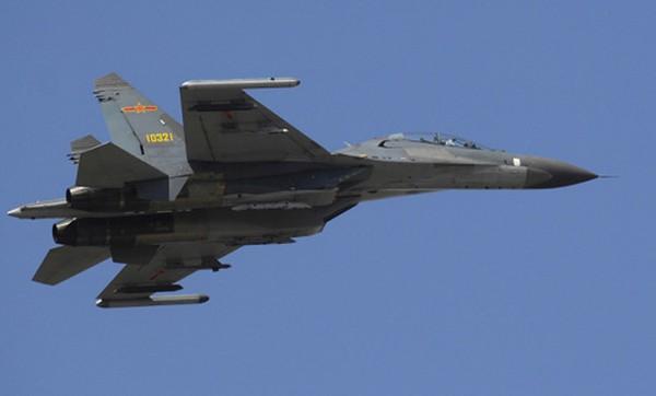 Một tiêm kích Su-27UBK của Không quân Trung Quốc. Ảnh: Wikipedia.