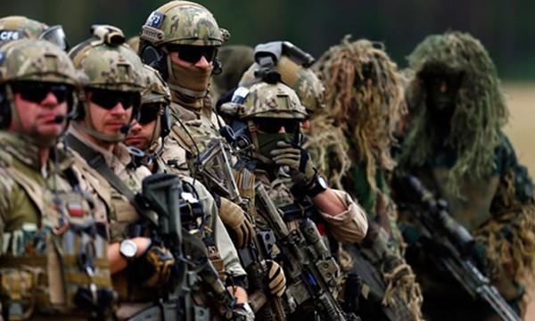 Đặc nhiệm Ba Lan tham gia một cuộc tập trận của NATO ở nước này tháng 9/2014. Ảnh: Reuters.