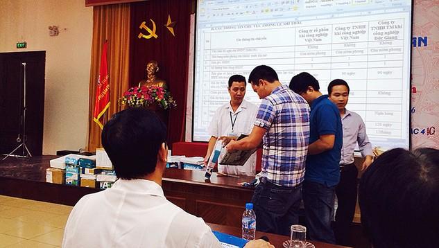 Mở thầu tại Bệnh viện Phụ sản Trung ương: Đa số nhà thầu ở Hà Nội dự thầu