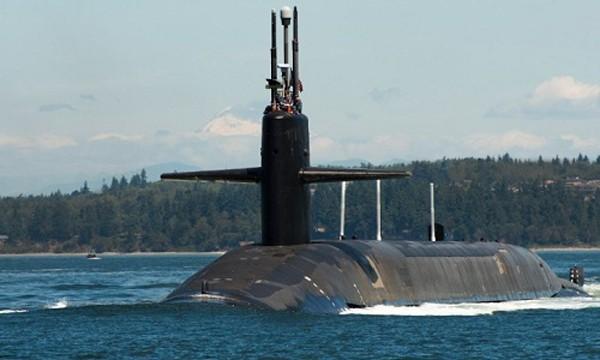 Tàu ngầm chiến lược lớp Ohio USS Pennsylvania của hải quân Mỹ. Ảnh: CNN