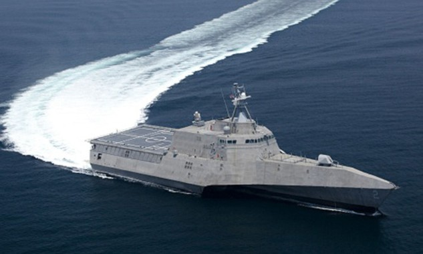 Tàu chiến ven biển LCS-6 USS Montgomery. Ảnh: US Navy